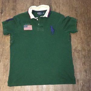 Men Polo by Ralph Lauren Slim Fit Shirt
